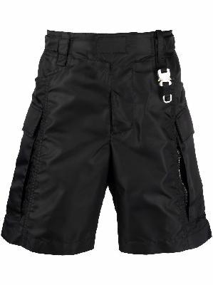1017 ALYX 9SM clip-logo cargo shorts
