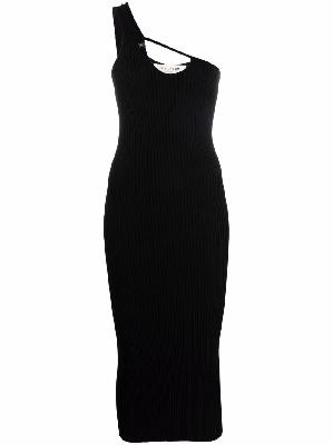 1017 ALYX 9SM cut-out asymmetrical fitted dress