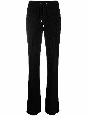 1017 ALYX 9SM ribbed-knit flared trousers