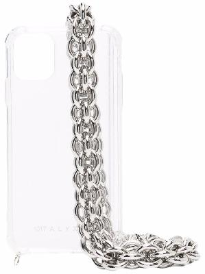 1017 ALYX 9SM iPhone 11 clear case