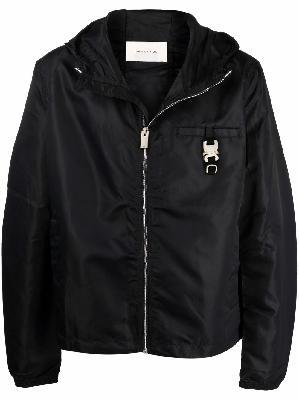1017 ALYX 9SM buckle-detail zip-up hooded jacket