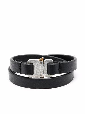 1017 ALYX 9SM Rollercoaster leather bracelet