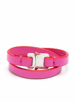 1017 ALYX 9SM logo tag bracelet