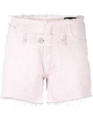 1017 ALYX 9SM distressed denim shorts