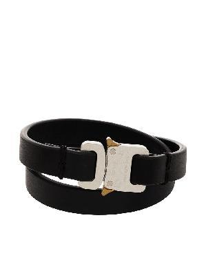 1017 ALYX 9SM micro buckle cuff bracelet