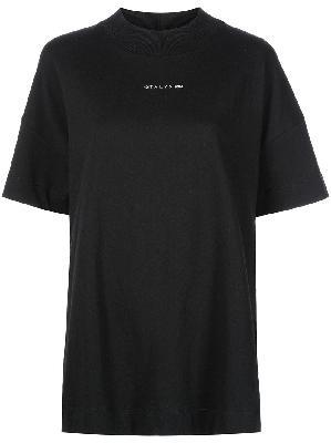 1017 ALYX 9SM logo mock-neck T-shirt