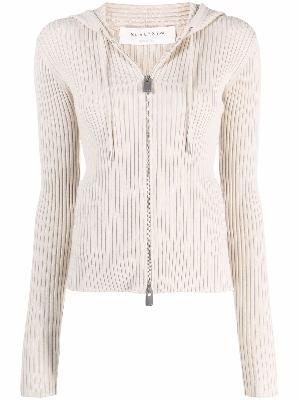 1017 ALYX 9SM ribbed knit zip-up cardigan