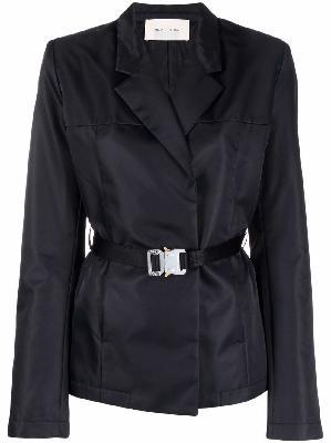 1017 ALYX 9SM industrial-buckle wrap blazer