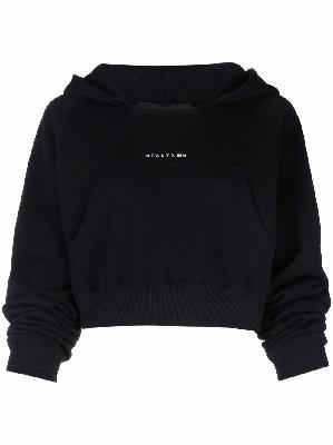 1017 ALYX 9SM logo print square-neck hoodie