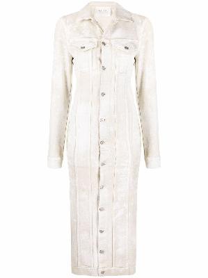 1017 ALYX 9SM button-down denim midi dress
