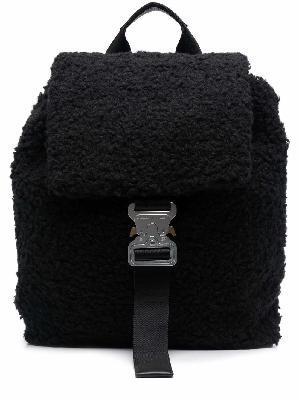 1017 ALYX 9SM fleece buckle backpack