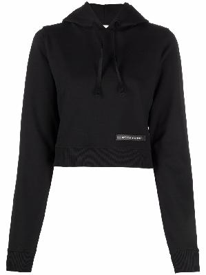 1017 ALYX 9SM logo patch cropped hoodie