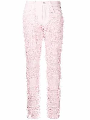 1017 ALYX 9SM rough-cut textured jeans