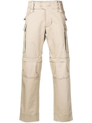 1017 ALYX 9SM contrast stitch cargo trousers