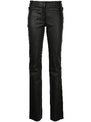 1017 ALYX 9SM back-buckle slim leather trousers