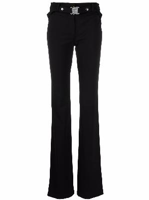 1017 ALYX 9SM clasp-belt bootcut trousers