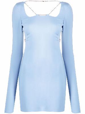 1017 ALYX 9SM chain-detail open-back mini dress