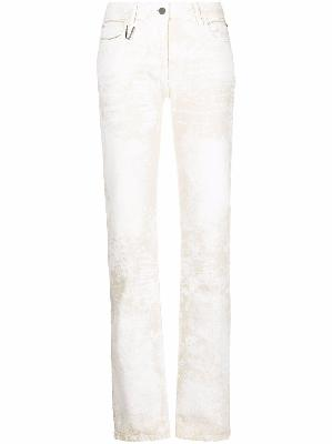1017 ALYX 9SM painted-finish trousers