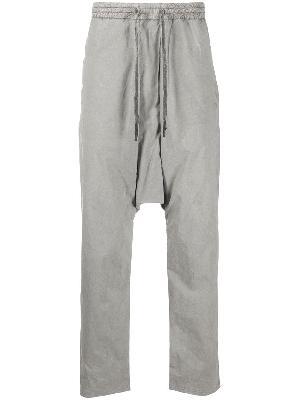 11 By Boris Bidjan Saberi drop-crotch track pants