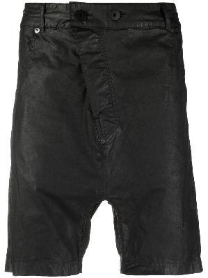 11 By Boris Bidjan Saberi asymmetric fitted shorts