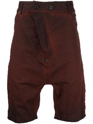 11 By Boris Bidjan Saberi dropped-crotch shorts