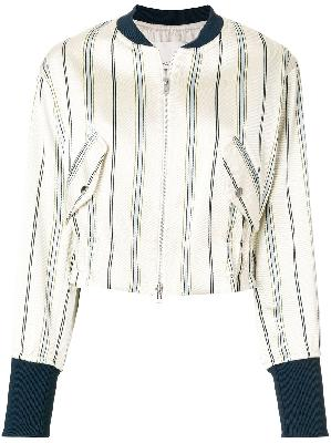 3.1 Phillip Lim striped bomber jacket