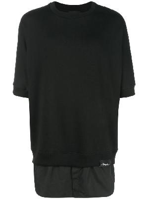 3.1 Phillip Lim Shirttail sweatshirt