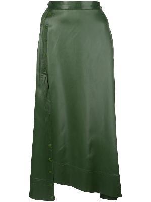 3.1 Phillip Lim asymmetric midi skirt