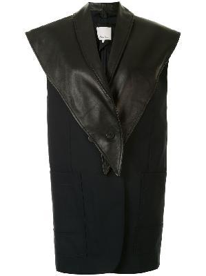 3.1 Phillip Lim removable scarf vest