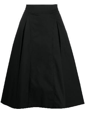 3.1 Phillip Lim box-pleat A-line midi skirt