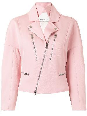 3.1 Phillip Lim twill biker jacket
