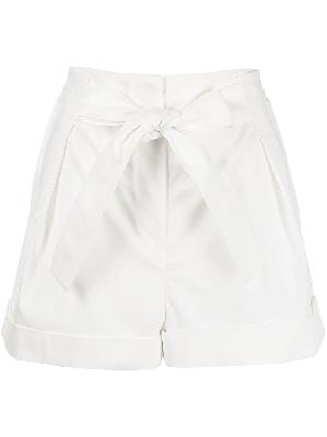 3.1 Phillip Lim tie-waist turn-up hem shorts