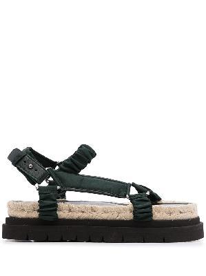 3.1 Phillip Lim Noa strappy platform sandals