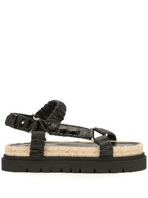 3.1 Phillip Lim ruched platform sandals
