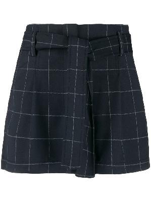 3.1 Phillip Lim checked shorts