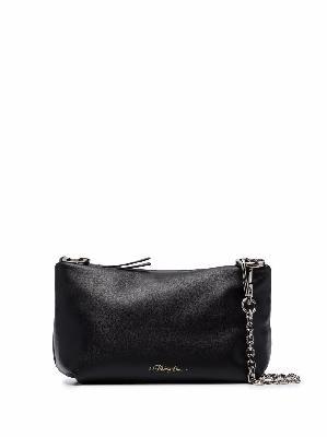 3.1 Phillip Lim leather logo-debossed clutch bag