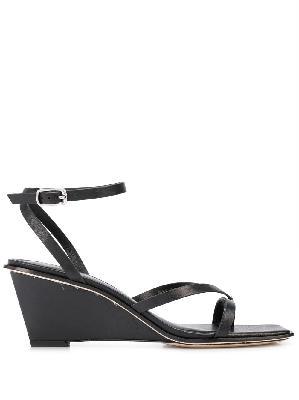 3.1 Phillip Lim strap-detail wedge-heel sandals