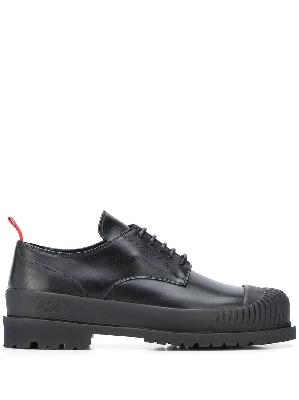 424 contrast pull-tab shoes