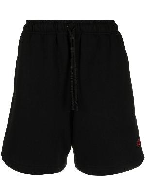 424 logo-embroidered deck shorts