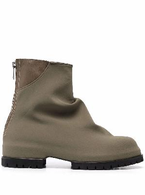 424 Low technical fabric ankle boots