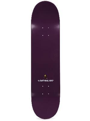 A BATHING APE® Camo Ape skateboard