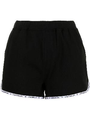 A BATHING APE® cotton track shorts