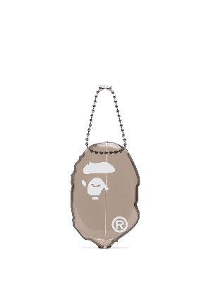 A BATHING APE® graphic-print coin case
