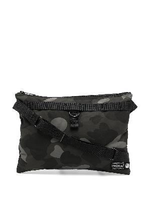 A BATHING APE® camouflage-print shoulder bag