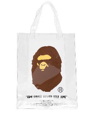 A BATHING APE® BAPE Ape Head tote