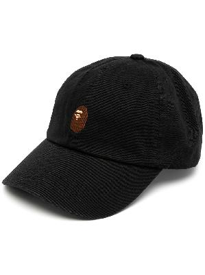 A BATHING APE® logo-patch cap
