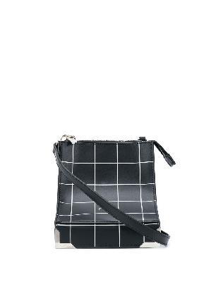 A-COLD-WALL* check print shoulder bag