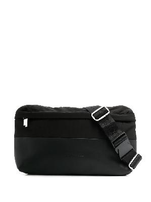 A-COLD-WALL* embossed-logo leather belt bag