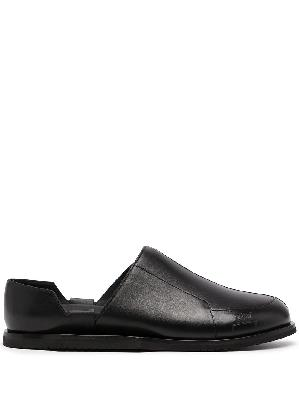 A-COLD-WALL* slip-on leather loafers