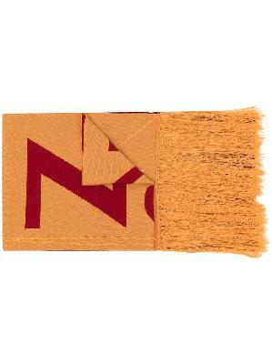 A-COLD-WALL* Modernist logo-print scarf